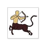 """Sagittarius Symbol Square Sticker 3"""" X 3&quot"""