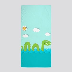 Sea Monster Beach Towel