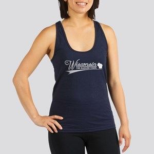 Wisconsin State of Mine Racerback Tank Top