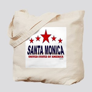 Santa Monica U.S.A. Tote Bag