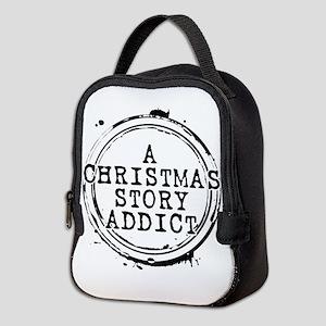 A Christmas Story Addict Stamp Neoprene Lunch Bag
