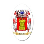 Gonzalvo 35x21 Oval Wall Decal