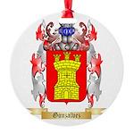 Gonzalvez Round Ornament