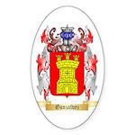 Gonzalvez Sticker (Oval)
