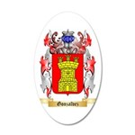 Gonzalvez 35x21 Oval Wall Decal