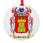 Gonzalez Round Ornament
