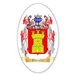 Gonzalez Sticker (Oval 50 pk)