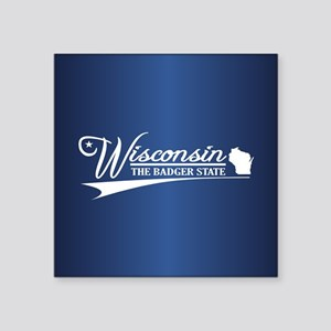 Wisconsin State of Mine Sticker