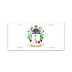 Gonneau Aluminum License Plate
