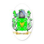 Gonigle Oval Car Magnet