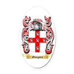 Gongora Oval Car Magnet