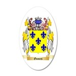 Gomes 35x21 Oval Wall Decal