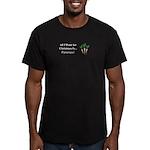 Christmas Parsnips Men's Fitted T-Shirt (dark)
