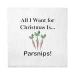 Christmas Parsnips Queen Duvet