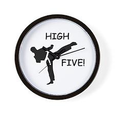High Five! Wall Clock