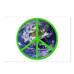 Earth Peace Symbol Postcards (Package of 8)