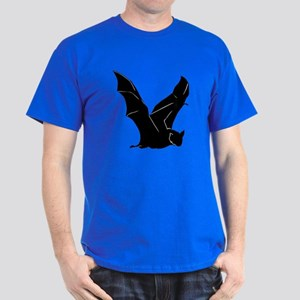 Flying Bat Silhouette Dark T-Shirt
