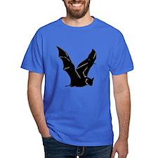 Flying Bat Silhouette Dark T-Shirt