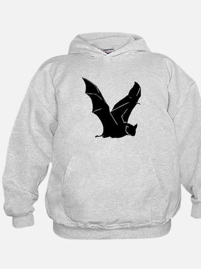 Flying Bat Silhouette Hoodie