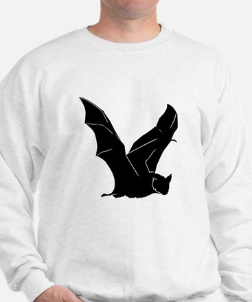 Flying Bat Silhouette Sweatshirt