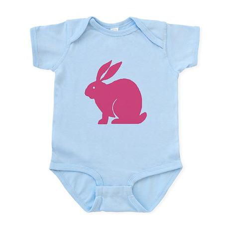 Pink Bunny Rabbit Infant Bodysuit