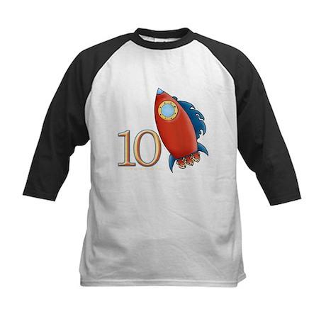 Boy's Rocket 10 Birthday Kids Baseball Jersey