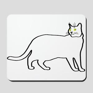 Kitty team #2 Mousepad