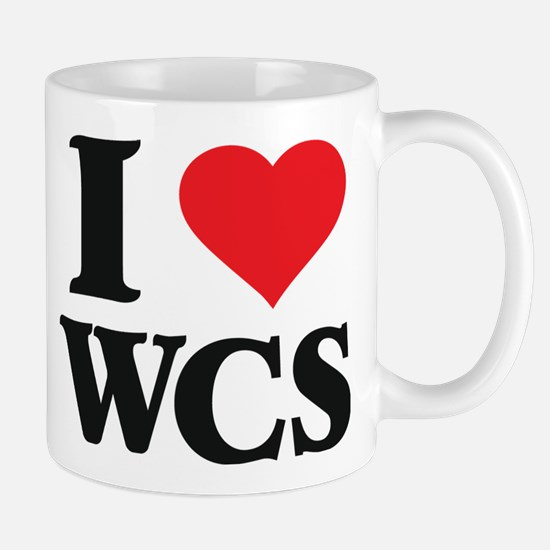 I Love West Coast Swing Mugs