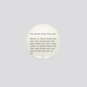 Funny Break Up Gifts and Accessories Mini Button