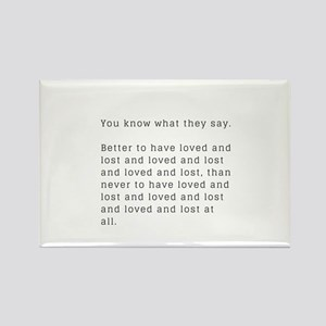 Funny Break Up Gifts and Accessories Magnets