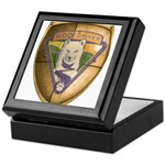 WooFDriver Gold Cross Shield Keepsake Box