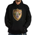 WooFDriver Gold Cross Shield Hoodie