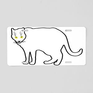 Kitty team #5 Aluminum License Plate