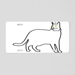 Kitty team #2 Aluminum License Plate