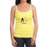 Karate Quips Walk Softly Jr. Spaghetti Tank
