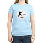 Karate Quips Walk Softly Women's Light T-Shirt