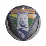 WooFDriver Bolted Shield Ornament (Round)