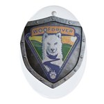 WooFDriver Bolted Shield Ornament (Oval)