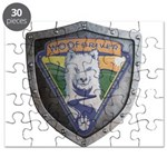 WooFDriver Bolted Shield Puzzle