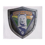WooFDriver Bolted Shield Throw Blanket