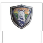 WooFDriver Bolted Shield Yard Sign