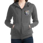 WooFDriver Bolted Shield Women's Zip Hoodie