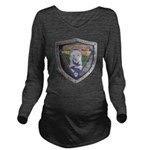 WooFDriver Bolted Shield Long Sleeve Maternity T-S