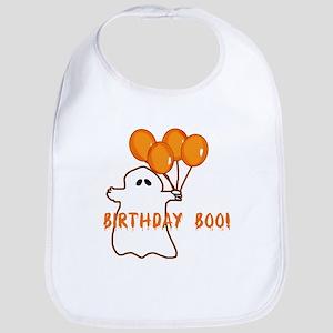 Halloween Birthday Boo Bib