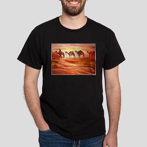 Camels, desert art T-Shirt