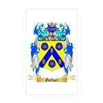 Gollner Sticker (Rectangle 50 pk)
