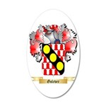Golever 20x12 Oval Wall Decal