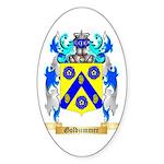 Goldzimmer Sticker (Oval 10 pk)