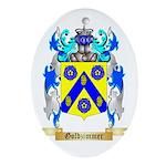 Goldzimmer Ornament (Oval)