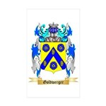 Goldwerger Sticker (Rectangle 50 pk)